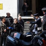 Four dead in Milan court shooting, suspected attacker arrested