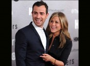 Justin Theroux e Jennifer Anistin (Foto: Getty Images)