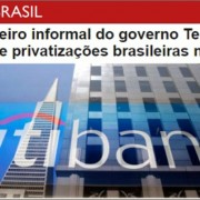 privatiz Temer citibank